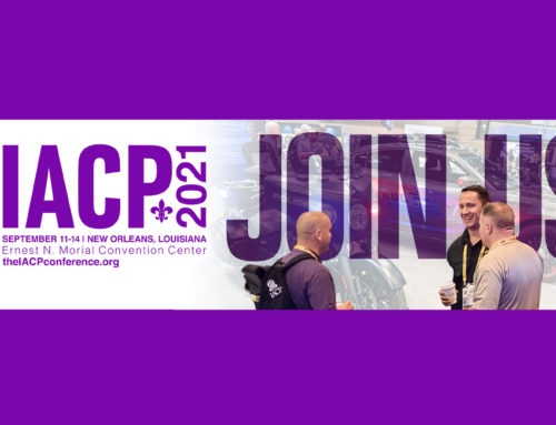 Visit us at the 2021 IACP Conference in New Orleans